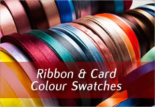 Ribbon and Card Colour Swatches